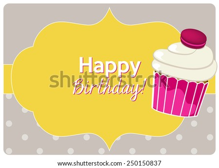 Have Nice Day Card Some Sweet Vector 210221491 Shutterstock – Bean Birthday Card
