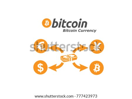 Bitcoin Sign Symbol For Internet Cashless Money Crypto Currency Image Using In