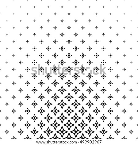 Black and white abstract pattern design background