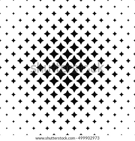 Black and white abstract polygon pattern design background