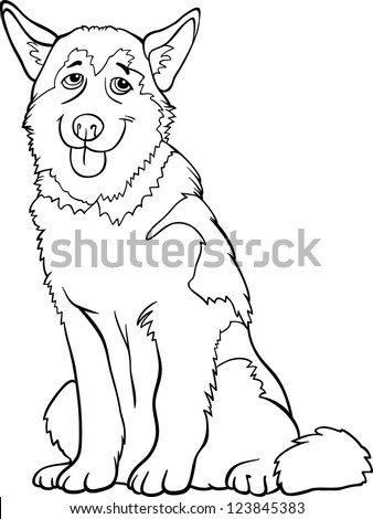 Funny Husky Outline Wiring Diagrams