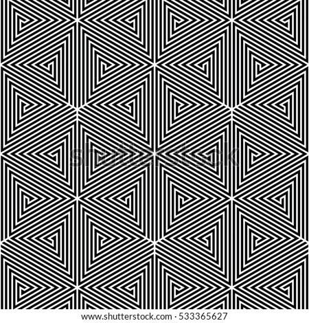 Pattern black and white modern for Modern patterns black and white