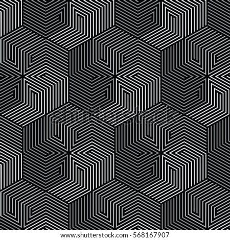 Modern Line Pattern