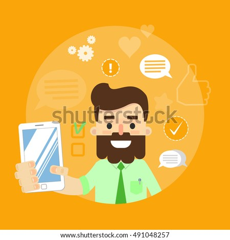digital marketing specialist practicing yoga stock vector