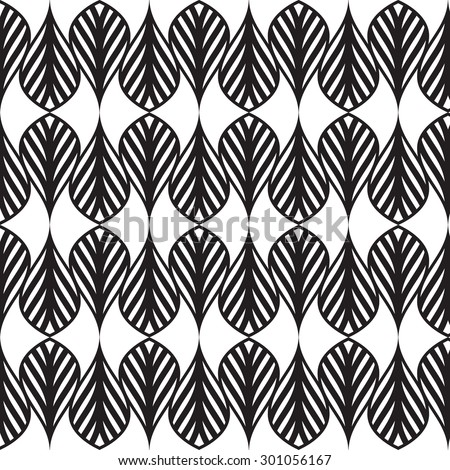 Black  graphic pattern vector illustration . Modern stylish texture.