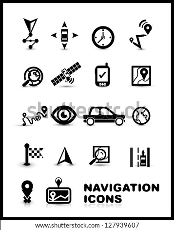 Performance Velocity Vector Icon Set Stock Vector 428894068 Shutterstock