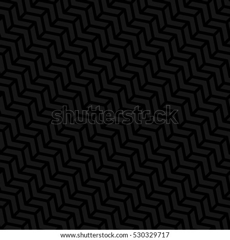 Black Neutral Seamless Pattern for Modern Design in Flat Style. Tileable Pattern Geometric Vector Background.