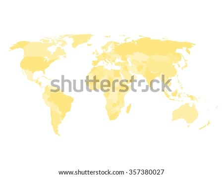 Group Eight Countries On World Map Stock Vector 438238864