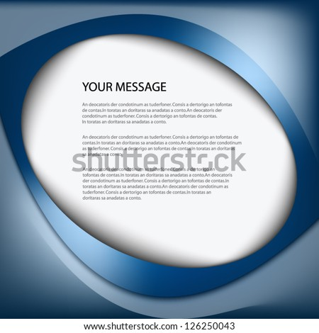 Infographic Background Box Information Board Design Stock Vector ...