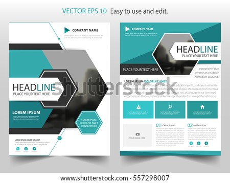 Brochure Design Template Abstract Modern Backgrounds Stock