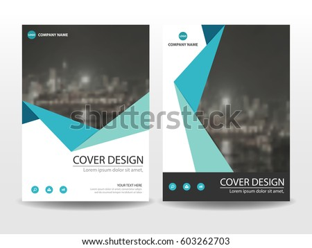 ssis design document template - yellow triangle flyer cover business brochure stock vector