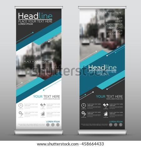 green roll business brochure flyer banner stock vector 445651189 shutterstock. Black Bedroom Furniture Sets. Home Design Ideas