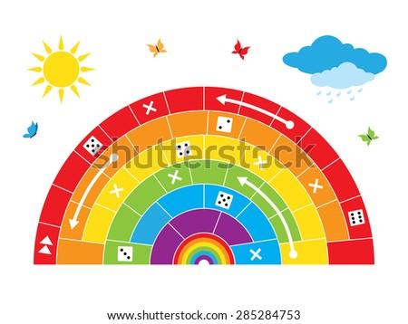 Wheel Fortune Illustration Vector Stock Vector 74840446 ...