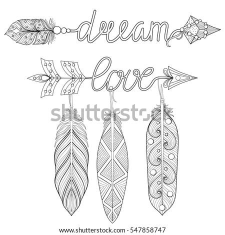 Hand Drawing Unicorn Adult Anti Stress Stock Vector 364673423