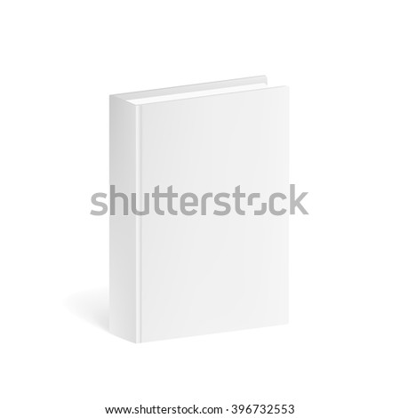 Book Mockup isolated on a white background. Book Mockup for corporate busines identity presentation. Book Mockup Isolated. Book Mockup 3D. Book Mockup for branding. Book Mockup  Illustration
