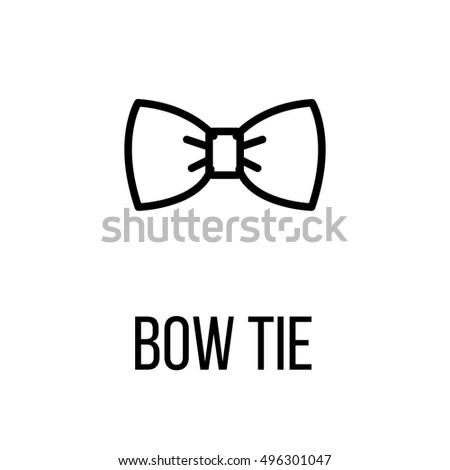 bowtie logo stock vector 192129356 shutterstock