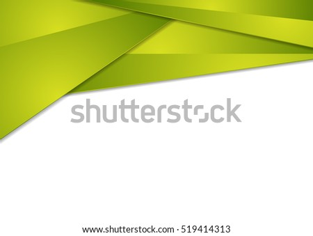 Bright green tech abstract background. Vector design
