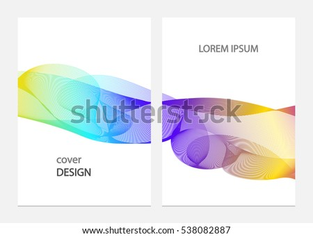 Brochure cover design vector template/ business layout page, easy editable