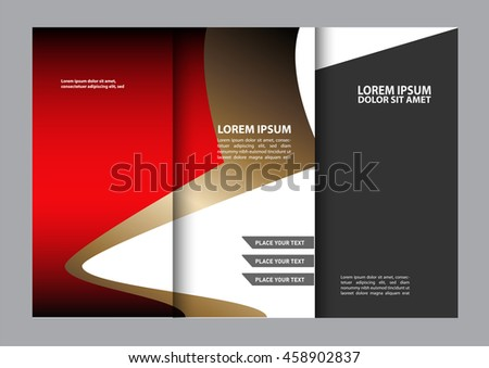 Brochure Template Stock Vector 383125585 - Shutterstock