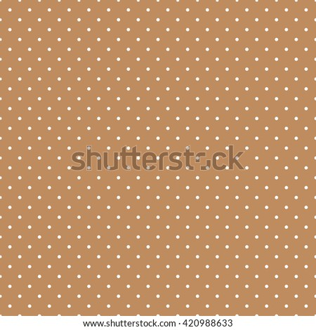 brown seamless dots pattern