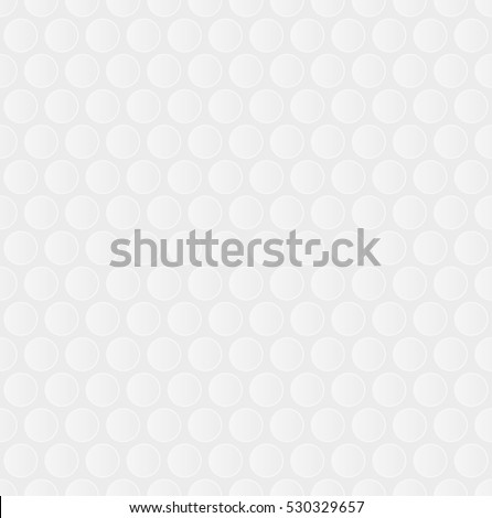 Bubble Wrap. White Neutral Seamless Pattern for Modern Design in Flat Style. Tileable Pattern Geometric Vector Background.