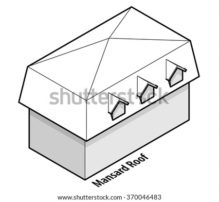 roof type flat or low pitch roof building roof type gable roof with