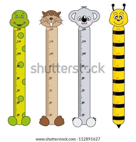 Bumper Children Meter Wall Princess Tower Stock Vector ...