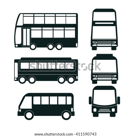 vector service car template commercial vehicle stock