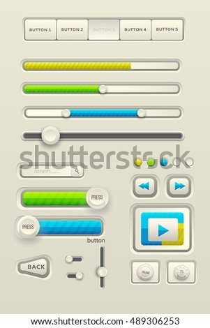 Business abstract 3D digital Infographic background concept. Vector illustration design