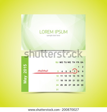 Business card calendar 2017 template free vector download 30864 business card calendar template february stock vector business card calendar template wajeb Choice Image