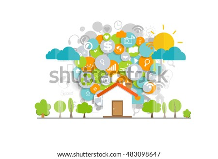 Royalty Free Stock Image Food Chain Vector Illustration Nature Image34886706 further Green Man Furniture likewise Elvetica further Real Estate Agent Plan also Stock Illustration Green Energy Ecology Eco Urban Landscape Industrial Factory Buildings Flat Clean Pla  Concept Vector Icon Banners Template Image72589880. on stock illustration eco friendly home infographic ecology green house