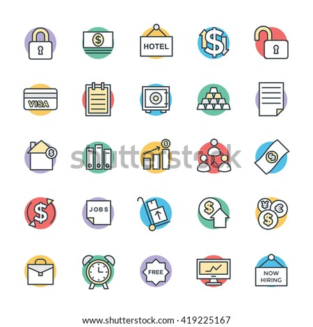 Business Cool Vector Icons 5