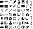 Business - Finance and Office icons collection - vector illustration - stock vector