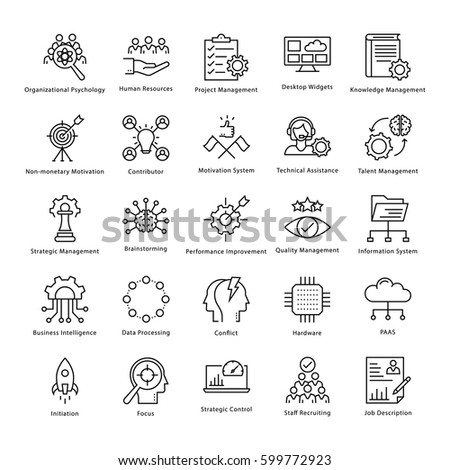 Modern Thin Line Icons Set Data Vector 377424127 Shutterstock – Stocker Job Description
