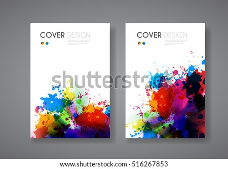 Business modern cover easy all editable