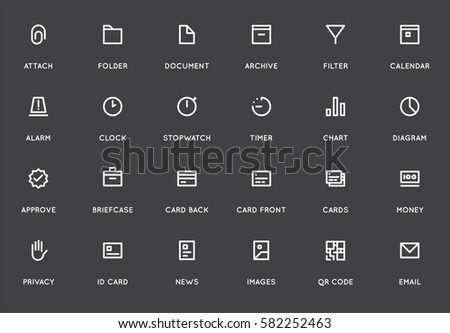 Business User Interface Ui Vector Icon Stock Vector 608638355 ...