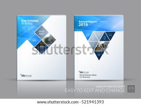Business Vector Set Brochure Template Layout Stock Vector - House brochure template
