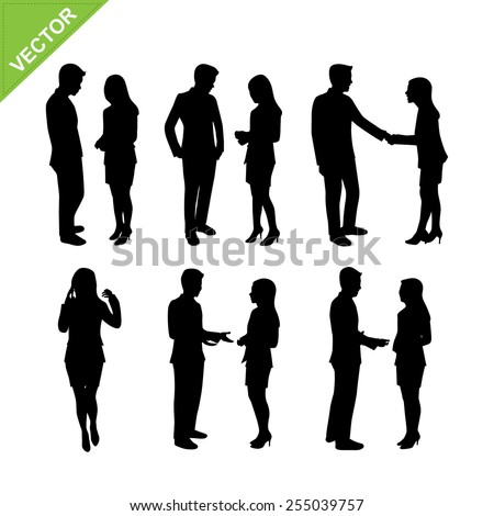People Different Sizes Races Genders Waiting Stock Vector ...