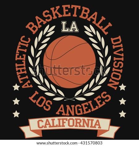 Sport Logo Set Basketball Volleyball Soccer Stock Vector