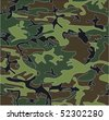 camouflage vector background - stock vector