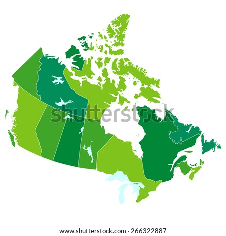 Canada map country