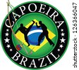 Capoeira brazil,africa,berimbau. - stock photo