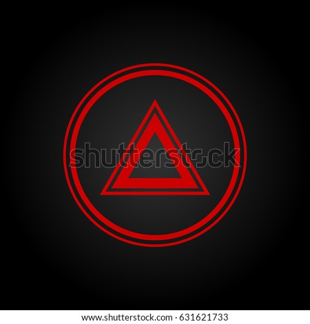 Car Dashboard Badge Stock Vector Shutterstock - Car sign on dashboard