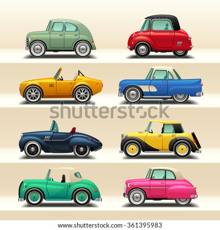car icon set-6