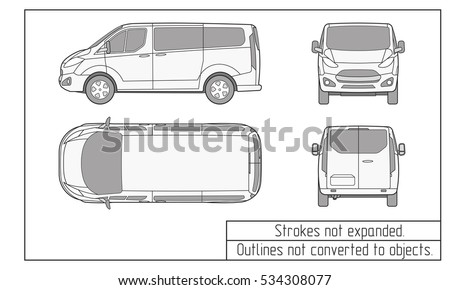 damage diagram for 2018 van automobile damage diagram car line draw insurance rent damage stock vector 309121715 ...