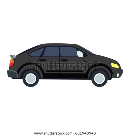 Cute Style Car Stock Illustration 416878198 Shutterstock