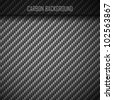 Carbon Carbon fiber seamless background - stock photo