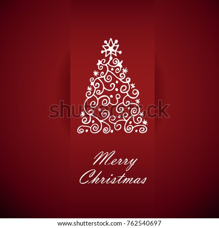Christmas card design stock vector 163749176 shutterstock card with christmas greetings vector illustration m4hsunfo