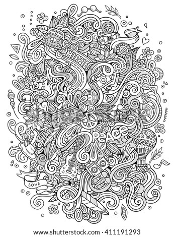 Champagne bottle line art design coloring stock vector for Coloring pages with lots of detail