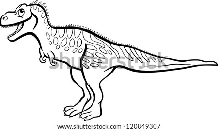 dancing dinosaur coloring pages | Girl Stock Illustration 454896544 - Shutterstock